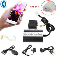 Bluetooth Kits Hands-free Stereo AUX Adapter Interface For Toyota Lexus Scion US