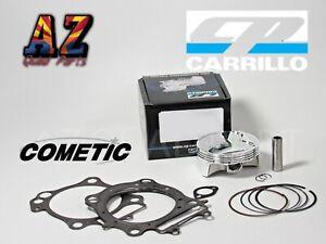 Yamaha YFZ450 YFZ 450 95mm CP Stock Bore Piston 13.75:1 Hi Comp Cometic Gaskets