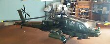 RARE 2002 BBI 21ST  1/18 Scale AH-64 Apache Helicopter 100% Complete 2 Pilots