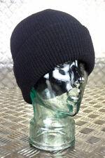 Accessoires Bonnet noir pour homme en 100% laine
