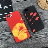 Matte Skin Thermal Sensor Change Color PC Hard Case Cover for iPhone 6S 7 Plus