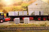 1:50 scale 10 x Concrete Block Pallet loads, lorry loads, Diorama