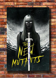 24x36 27x40 The New Mutants Movie The Girl Poster Fabric Art T608