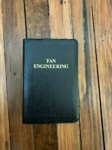 Fan Engineering Handbook Ninth Edition Howden Buffalo, Inc.