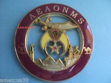 Shriners Masons masonic 3 Metal car Emblem 3D decal MAS11
