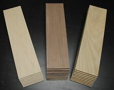 "WALNUT CHERRY MAPLE THIN BOARDS LUMBER WOOD  SCROLL SAW 12-1/2""x 3-1/2""x 1/4"""