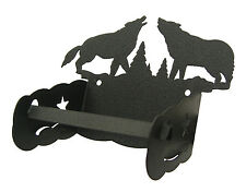 Howling Wolves Wolf Toilet Tissue Paper Holder