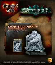 AVATARS OF WAR - AOW51 Dwarf Thunderlord with Two Pistols *Warhammer Style*
