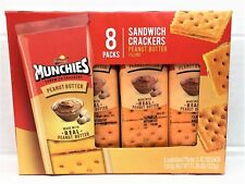 Munchies Peanut Butter Sandwich Cheese Crackers Frito Lay To Go 11.36 oz