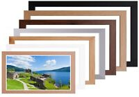 A4 A3 A2 A1 Picture Frame Wood Poster Picture Frame White Black Oak Silver