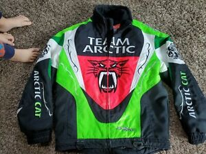 Team Arctic Cat Racing Embroidered Coat Sno Pro Junny On Track Logo Youth C8 991