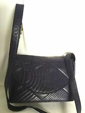 GIANNI VERSACE Leather Clutch/Cross Body/Shoulder Bag / Handbag, Made In Italy