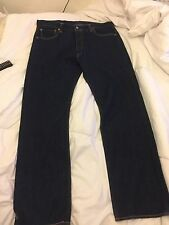 Levi 501 Original One Wash Straight Leg Jeans W36 L32 Rrp £75