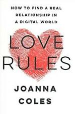 LOVE RULES - COLES, JOANNA - NEW BOOK