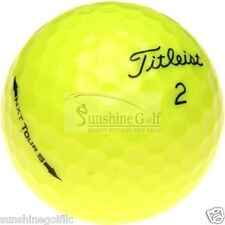 50 AAA Titleist NXT Tour S YELLOW Used Golf Balls (3A)