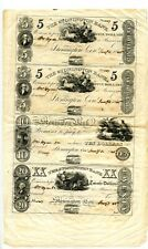 1845  Stonington Bank Sheet.