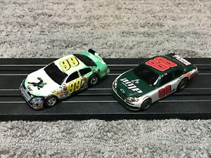Life Like Green Lantern Custom & Dale Earnhardt Jr NASCAR for AFX Tyco Tracks