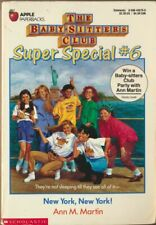 Baby-Sitters Club Super Special #6: New York, New York! by Ann M. Martin : VG