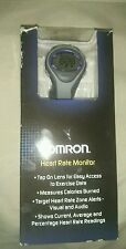Omron HR-310 Heart Rate Monitor, clock, calender, and alarm with a blacklight