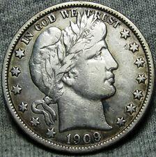 New listing 1909-O Barber Half Dollar silver - Stunning Rare - #O459