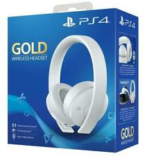 Sony PlayStation 4 Wireless Stereo Ps4 Headset Gold White - &