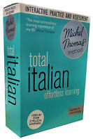 Total Italian with the Michel Thomas Method inc Practice & Test (CD-Audio)