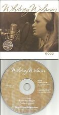 WHITNEY WOLANIN Good 2005 USA PROMO radio DJ CD single w/ PRINTED LYRICS