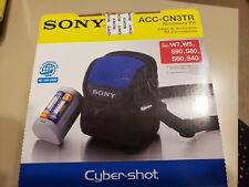 ACC-CN3TR DIGITAL CAMERA SONY ACCESSORY KIT Cybershot Soft Carry Case