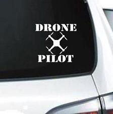B161 Drone Pilot FPV quadcopter phantom  vinyl decal car truck van suv laptop