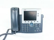 Cisco CP-7945G VoIP IP Phone w/ Handsets and Stands