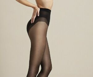 """Slimming Fit Control Belly Shaping  Patterned Dots Tights """"High Point"""" 20 Denier"""
