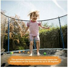New ListingFancyWhoop Trampoline Outdoor Water Sprinkler Kit 32.8ft Toy With Water Balloons