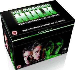 The INCREDIBLE HULK COMPLETE SERIES SEASON 1 2 3 4 5 BOXSET LOU FERRIGNO DVD R4