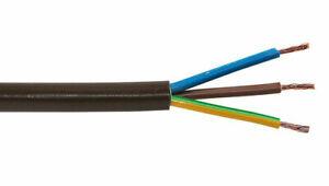 3 x 1,5 mm² 3G1,5 Verlängerung Anschluß Kabel  1,09€ / Meter