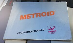 Metroid - Nintendo Game Instruction Booklet - NES - MANUAL ONLY