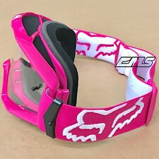 Fox Racing Main Goggle Pink Motocross Dirt Bike Quad MX MTB ATV SXS UTV Sandcar