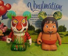"Disney Park Vinylmation 3"" Set 1 Jungle Book Animation Lot Shere Khan Mowgli"