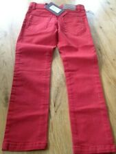 Catimini Jeans Red Size 5 Years BNWT
