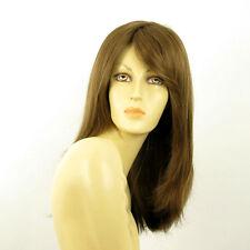mid length wig for women light brown golden ref TARA 12 PERUK