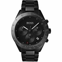 Hugo Boss HB 1513581 Talent Chronograph All Black Tone Men's Wrist Watch