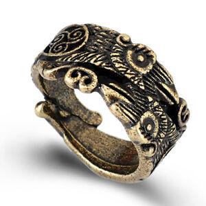 Rare Ancient Scandinavian Bronze Ring Viking 9-12 Century Ad