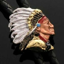 Bolotie Indianer- Häuptling Indian Chief Bolo Tie