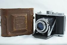 VINTAGE OLYMPUS CHROME SIX II CAMERA WITH 7.5cm F2.8 ZUIKO C LENS 1948-50