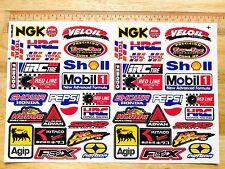RC 48X Aufkleber Sticker SET HPI Kyosho Traxxas Losi Drift Buggy Auto Modellbau