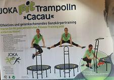 Fitnesstrampolin Cacau mit Haltegriff / Haltestange