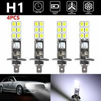 4x H1 6000K Super White 80W CREE LED Headlight Bulbs Kit Fog Driving Light Lamp