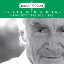 Audiolibro CD Rilke Gedichte sobre el amor por Jürgen Goslar Edition