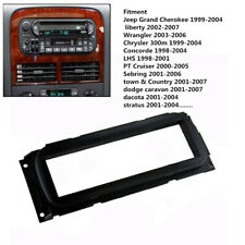 Car 1DIN Frame Audio-visual Instrument Panel Mount Cover for Jeep Cherokee Dodge