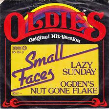 "Single 7"" - Small Faces ""Lazy Sunday // Ogden's Nut gone flake"""