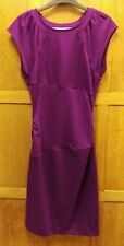 Diane Von Furstenberg Royal Purple Woolmix Bodycon Dress Size 6